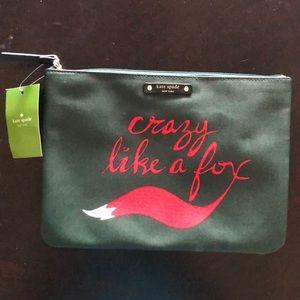 """Kate Spade """"Crazy like a Fox"""" bag"""